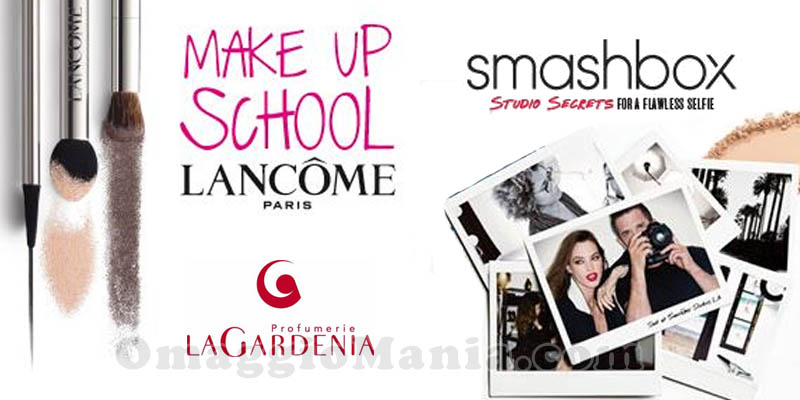 make up school Profumerie La Gardenia