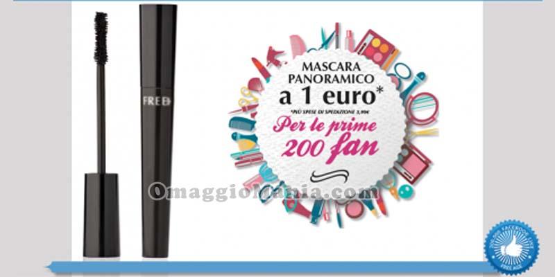 mascara panoramico a 1 euro