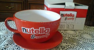 maxi tazza Nutella B-ready vinta da Elisa