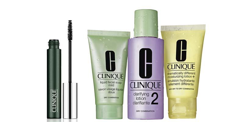 minitaglia mascara e kit 3 fasi Clinique