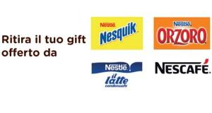 omaggio Nestlé Upim