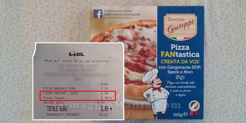pizza FANtastica in omaggio da Lidl