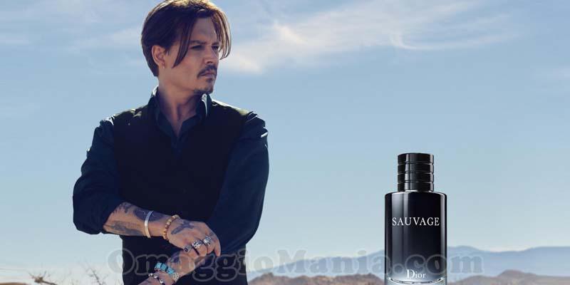 profumo Dior Sauvage con Johnny Depp