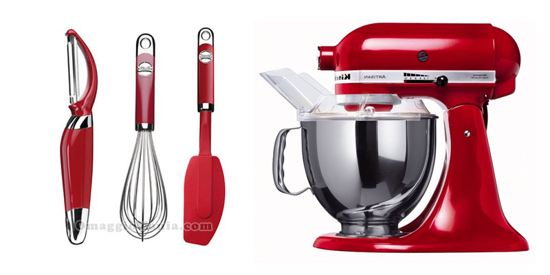 Vinci un robot da cucina kitchenaid o un set di utensili for Accessori in cucina