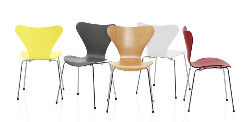 sedie Serie 7 Arne Jacobsen
