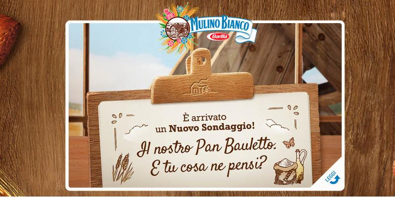 sondaggio Mulino Bianco Pan Bauletto