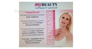 tester myBeauty Clinians Dermocosmetique