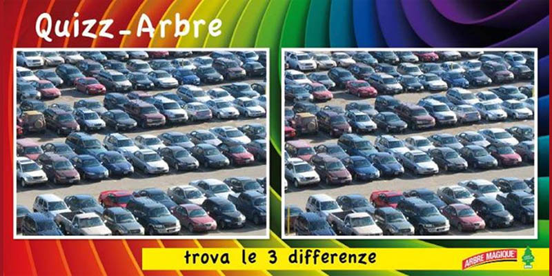trova le 3 differenze Quiz Arbre Magique