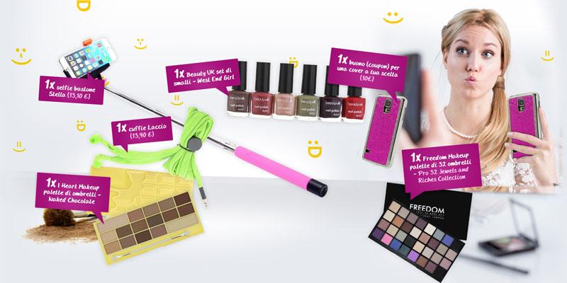 vinci accessori e cosmetici con Pink Panda