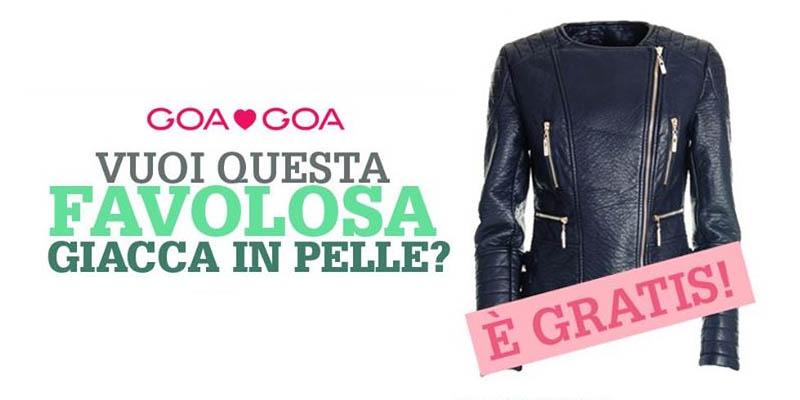 vinci giacca in pelle con GoaGoa 2