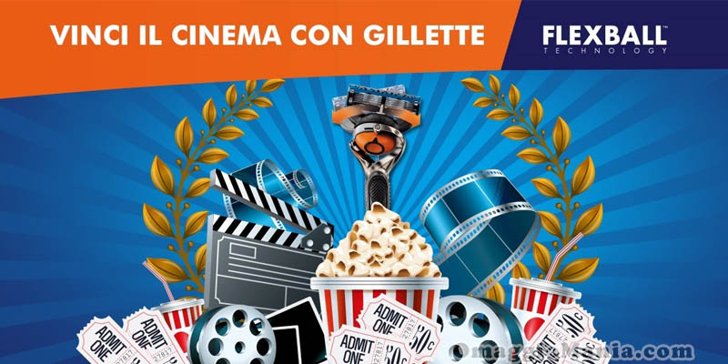 vinci il cinema con Gillette