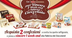 vinci la Fabbrica del Cioccolato con Lidl