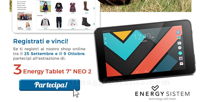 vinci tablet con Mayoral