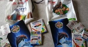 Kit Giotto Kinder Ferrero Estathé ricevuti da Sabry77
