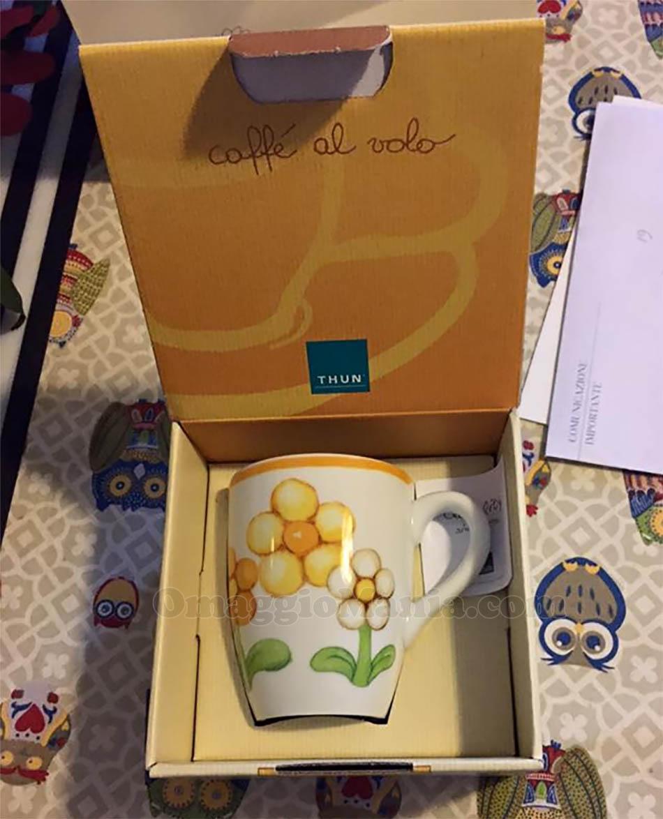 Mug Dolcefiore vinta gratis da Thun