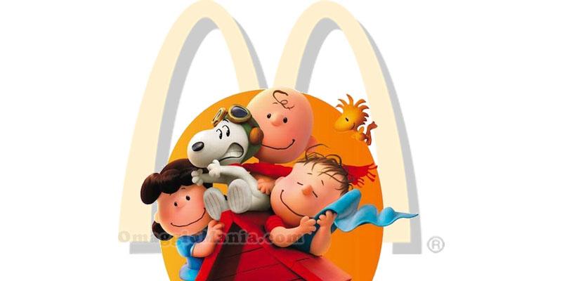 Snoopy & Friends omaggio da McDonald's