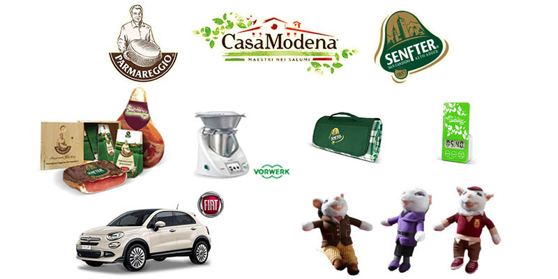 Tesori Del Gusto Parmareggio Casa Modena e Senfter