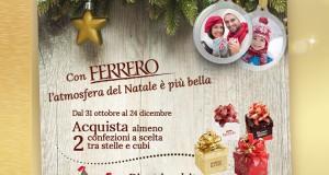 foto addobbi natalizi omaggio da Ferrero
