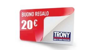 buono regalo Trony 20 euro