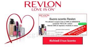buono sconto Revlon 10 euro