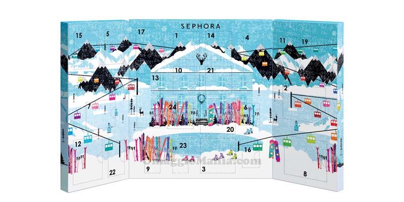 Calendario dell'Avvento Sephora con 24 sorprese - OmaggioMania