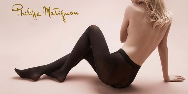 collant Nudité omaggio da Philippe Matignon