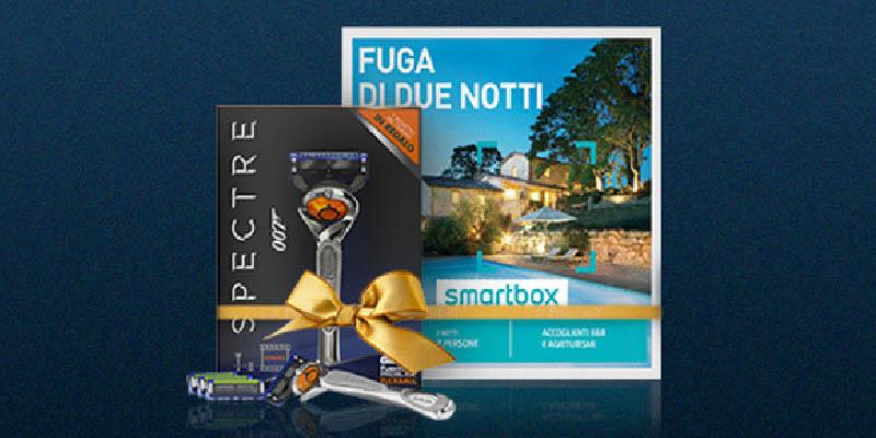 concorso Desideri Magazine Gillette e Smartbox