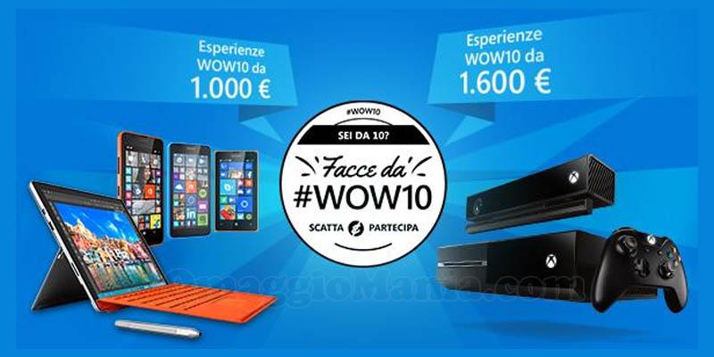 concorso Microsoft WOW10