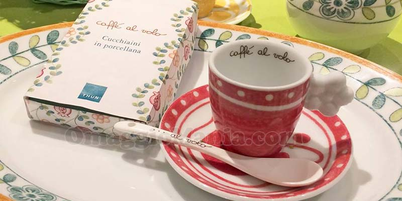 cucchiaini in porcellana Thun