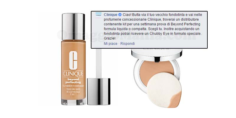 kit Beyond Perfecting con commento ufficiale Clinique