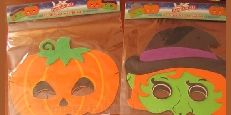 mascherine di Halloween di Paneangeli