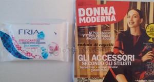 salviette struccanti FRIA in omaggio con Donna Moderna