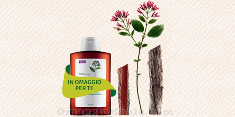 shampoo Klorane omaggio con acquisto
