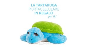 tartaruga portacellulare omaggio da Carpisa