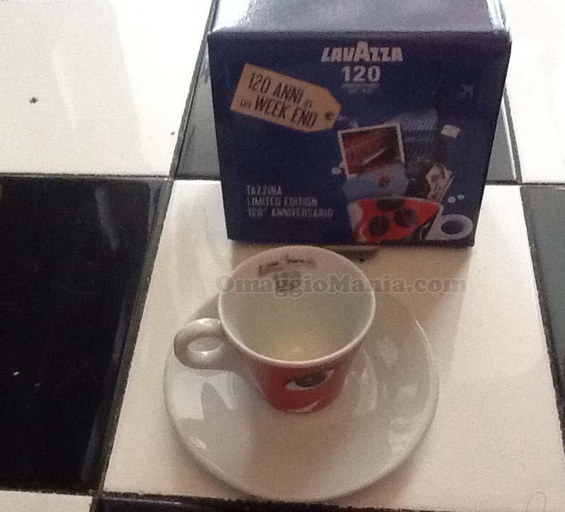 tazza Lavazza 120 anni vinta da Tataa