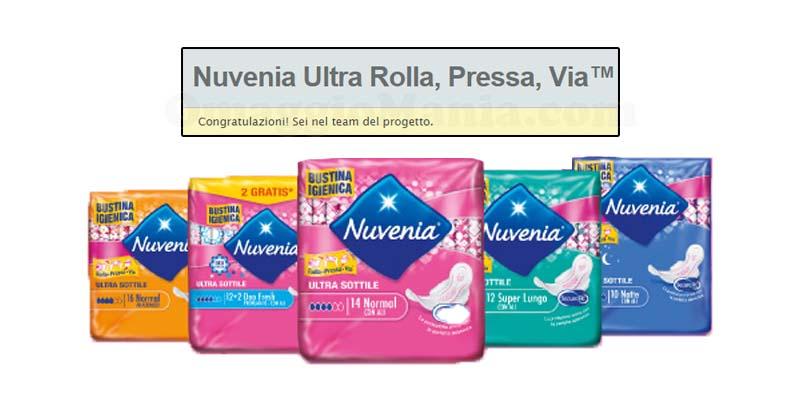tester Nuvenia Ultra Rolla, Pressa, Via