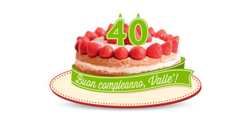 torta buon compleanno Vallè