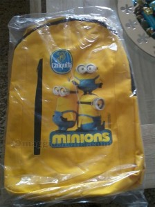 zaino Minions vinto con Chiquita da Fede