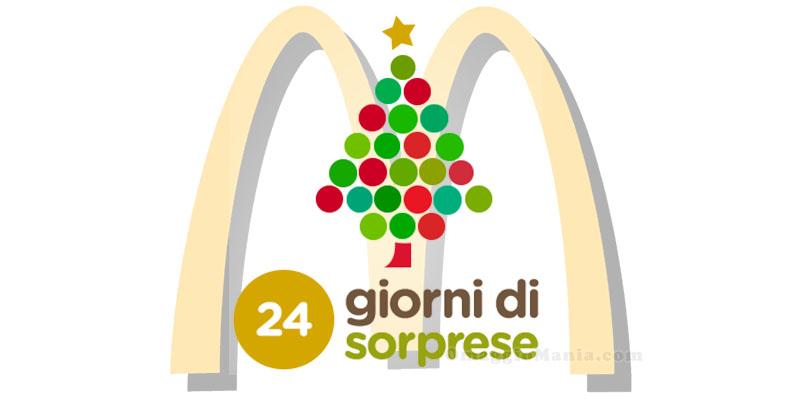 24 giorni di sorprese da McDonald's