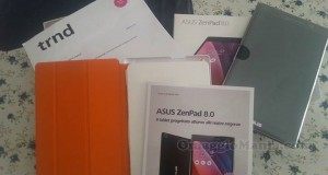 Asus ZenPad ricevuto da Giusy