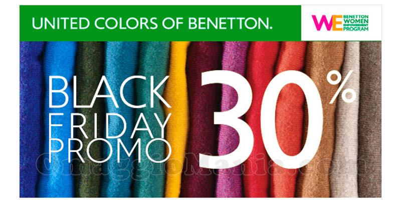 Black Friday Benetton 2015
