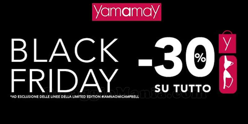 black friday yamamay