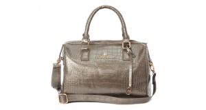 Brigida Croco Bag by Conte of Florence.