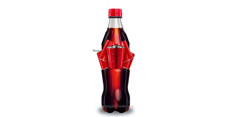 Coca Cola con il Fiocco Magico 2015