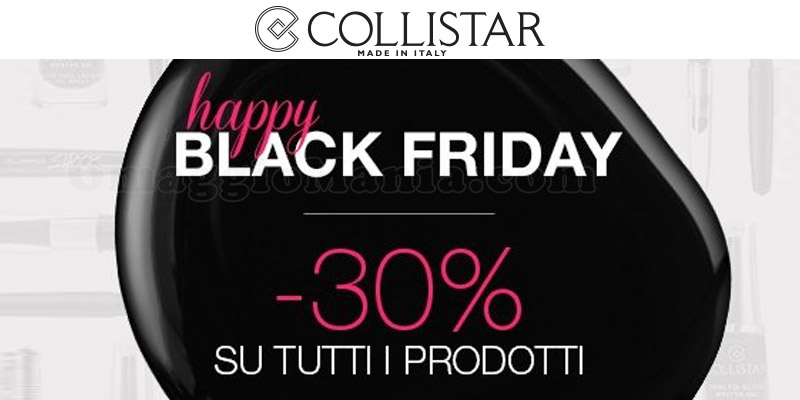 Collistar Black Friday