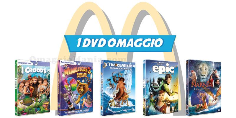 DVD omaggio da McDonald's