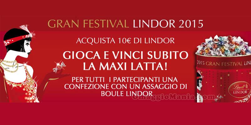Gran Festival Lindor 2015 info