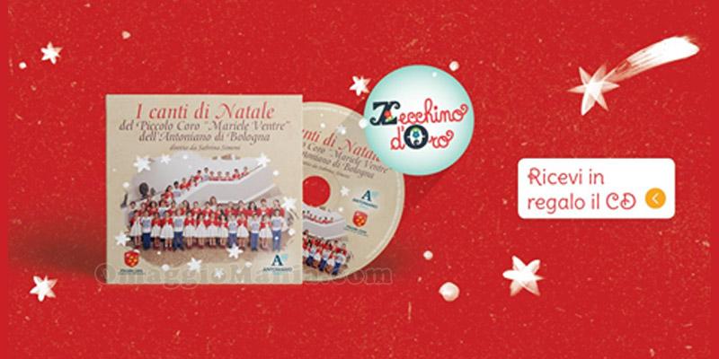 I canti di Natale cd in regalo