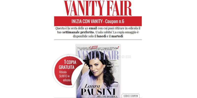 Inizia con Vanity Fair coupon 6