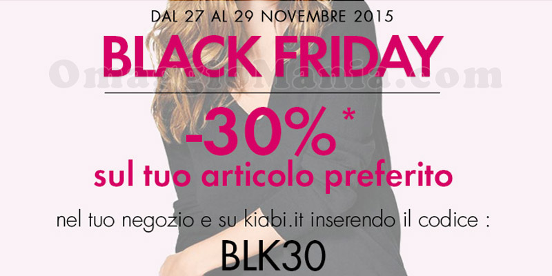 Kiabi Black Friday 2015